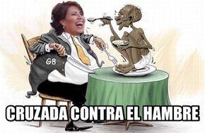 """Esta es la """"Cruzada Contra el Hambre"""" de Rosario Robles:"""