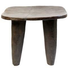 African Senufo Bench