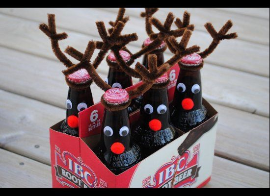 reindeer root beer..cute for kids