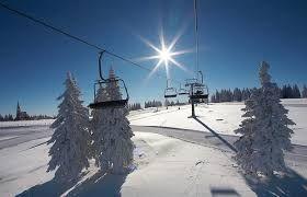 Rogla is the main ski resort in the Pohorje range