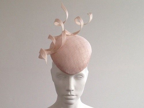 Latest Ascot Hats: Couture by Beth Hirst Averill – Nude Twist Beret (Price: £214.99)