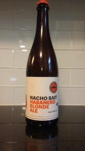 Review: Country Boy Brewing Nacho Bait Habanero Blonde Ale