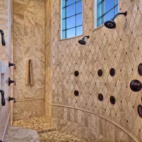 Master Bath Walk Thru Shower by Zbranek   Holt Custom Homes  Horseshoe Bay  and Austin Custom Home Builder25  best Walk through shower ideas on Pinterest   Big shower  . Master Bath Walk In Shower. Home Design Ideas