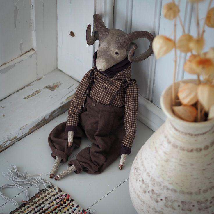 Art doll Ram