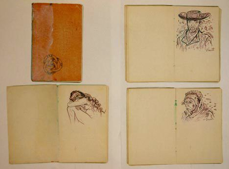 Vincent van Gogh. sketchbook1