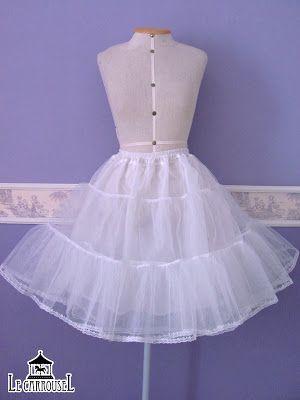 Anágua de tule para enchimento de saia. ♥♥União Lolita♥♥: S.O.S. Anágua