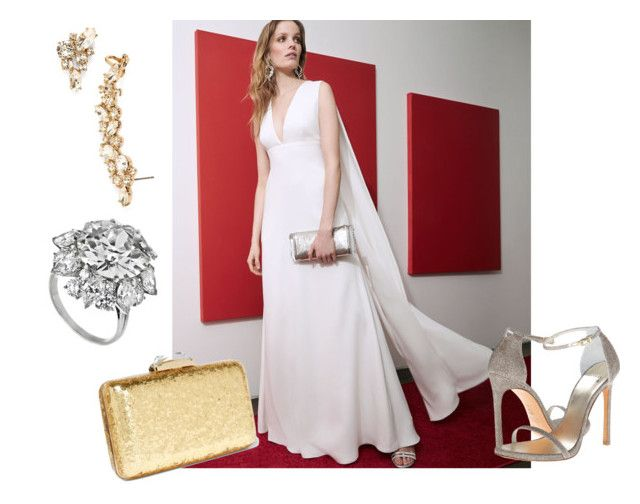 """Liv Tyler Red carpet look 1"" by johanamojak on Polyvore featuring Jill by Jill Stuart, KOTUR, Bulgari and Marchesa"