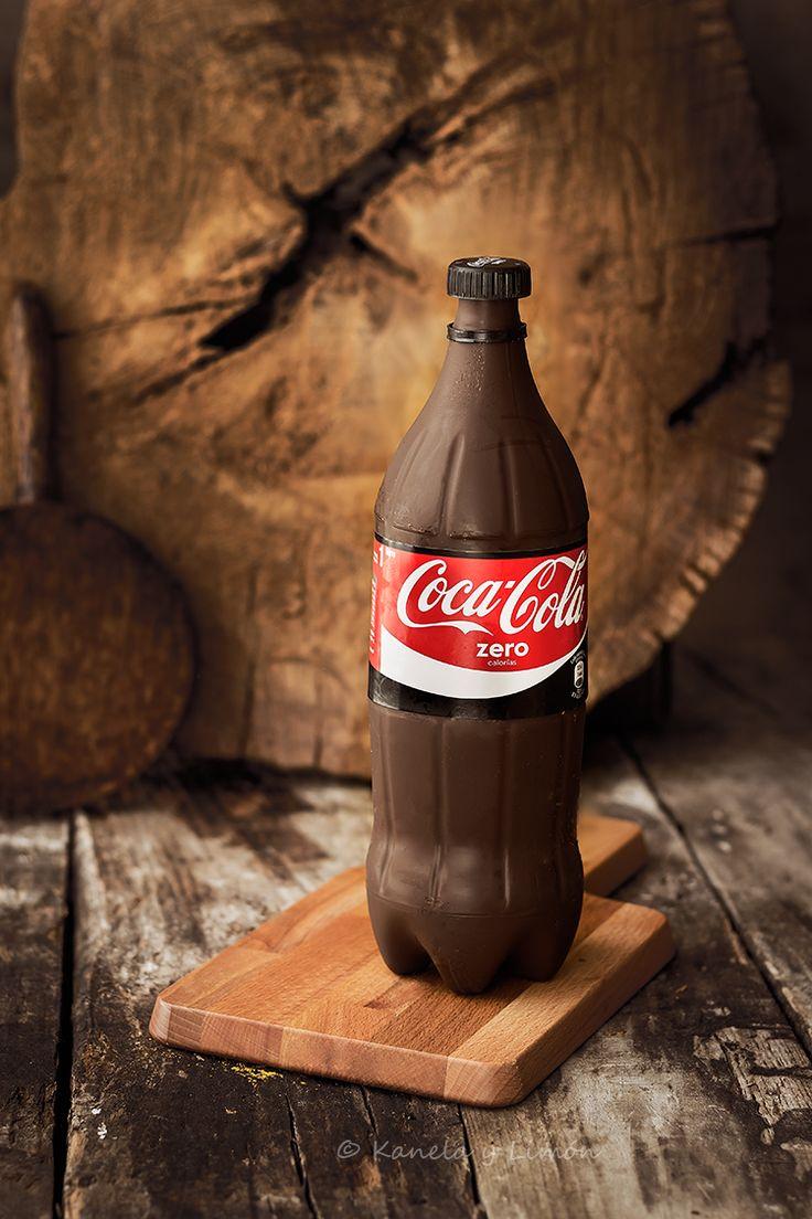 """Kanela y Limón: Tarta """"botella de coca cola"""""""