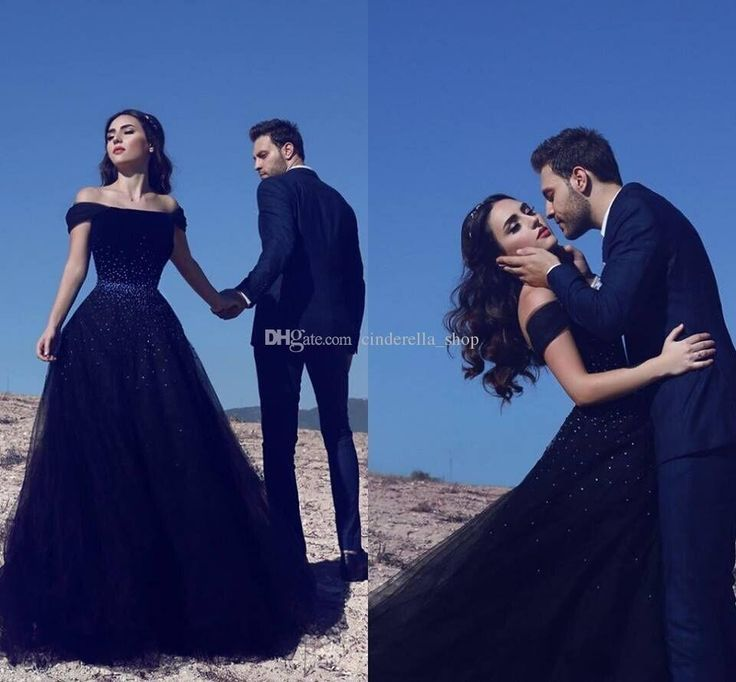 Elegant Arabic 2018 Black Evening Dresses A Line Sweep Train Off Shoulder Crystal Beaded Long Formal Prom Party Gowns Customized Cheap Yellow Evening Dress Beautiful Evening Gowns From Cinderella_shop, $120.12| Dhgate.Com