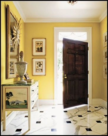 44 best Yellow walls images on Pinterest | Birches, For the home and ...