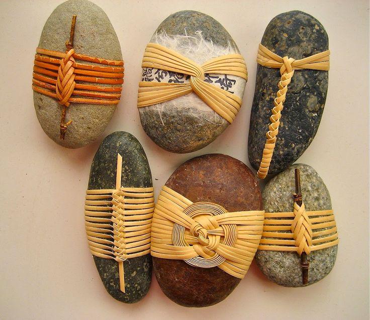 stones weave bamboo - Basketeer