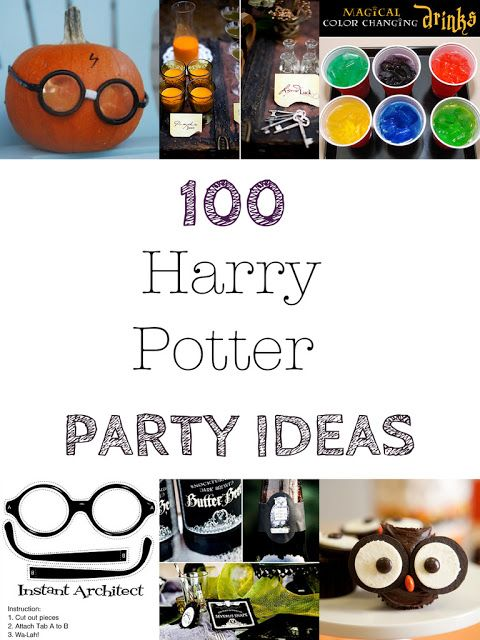 the dragons fairy tail: 100 + Harry Potter Halloween Party Ideas --Because they kids have promised to let me throw them a harry potter birthday party on their 11th birthdays
