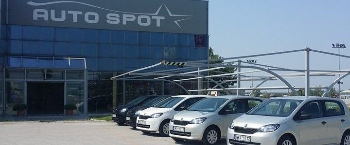 """5 """"αδερφάκια"""" SKODA Citigo στον στόλο ενοικιάσεων της AUTO SPOT www.autospot.com.gr"""