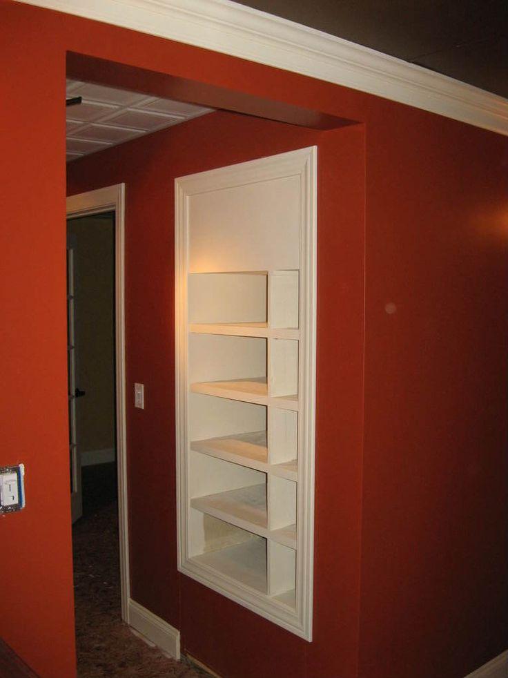 Hidden Door Media Closet. Hidden DoorsSecret DoorsSecret PlacesBasement  IdeasTheater