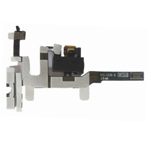[$1.65] High Quality Headphone Audio Jack Ribbon Flex Cable for iPhone 4S (Black)