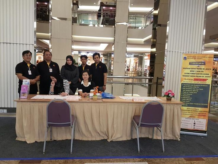 UPPRD Gropet Buka Stand Layanan Pajak di Mall Taman Anggrek