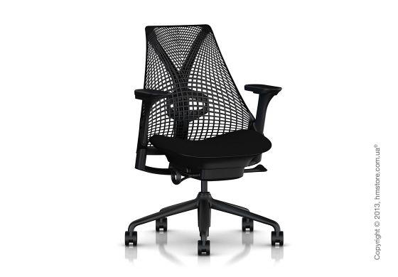 Кресло для офиса Herman Miller SAYL предоставляет свободу движений. Опора спины Y-Tower превосходно поддерживает спину, a 3D Intelligent™ подвеска мягкого, бескаркасного и эргономичного кресла SAYL создает баланс между поддержкой и свободой. Офисное кресло Herman Miller SAYL воплощает в себе эргономичность, красивый и оригинальный дизайн, а также передовые инженерные решения. Купить офисный стул Герман Миллер.