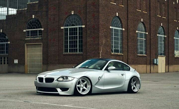 Bmw Z4 M Coupe Silver Slammed Bmw Roadsters Amp Coupes