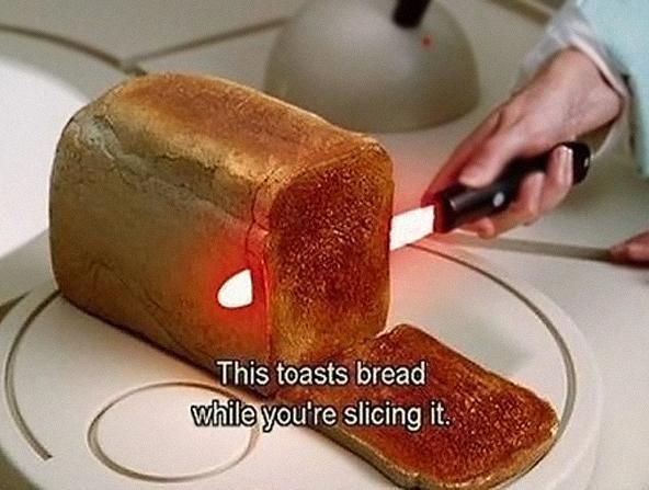 Coltello tostapane