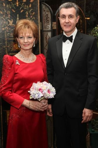 Noblesse & Royautés » Crown Princess Margareta and Prince Radu of Romania at a gala for the Versailles Foundation, New York