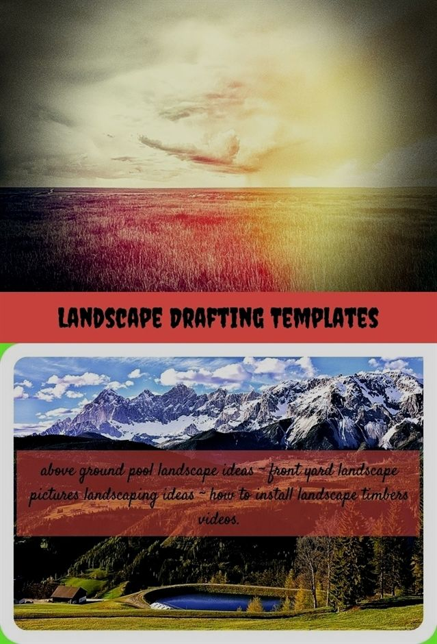 landscape drafting templates_202_20180620043541_28 grow much more trees to improve the great thing about nature stone landscape driveway entrance ideas