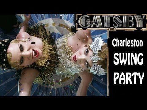 The Great Gatsby Charleston Swing Party - DJ Electro Swingable Mix  //  ***GREAT Mix!!