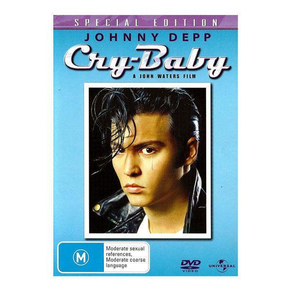 Cry Baby DVD Brand New Region 4 Aust. - Johnny Depp