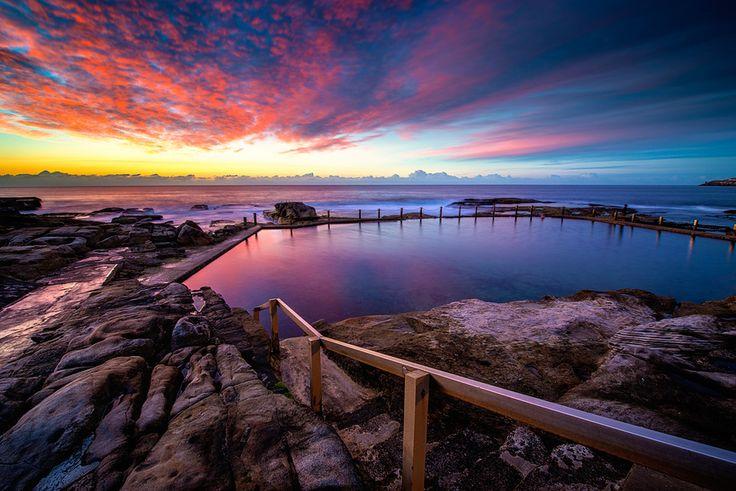 Mahon Rock Pools, Maroubra Beach, New South Wales, Australia. Photo by Preecha Sakhonphantharak.