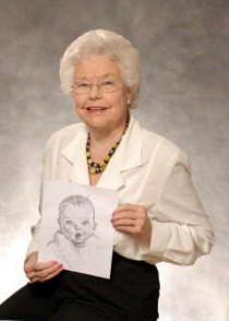 She is still the beautiful, one and only Gerber Baby.   Awwww.....