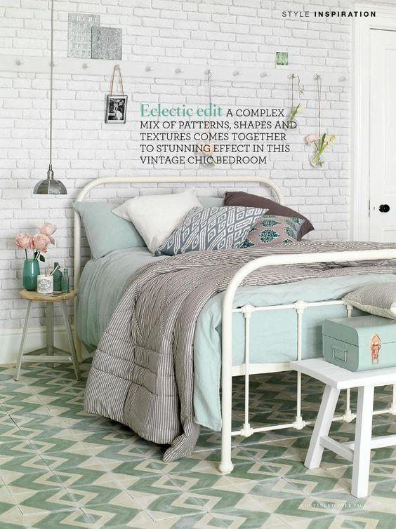 koziel white bricks wallpaper - Brick Wallpaper Bedroom Ideas