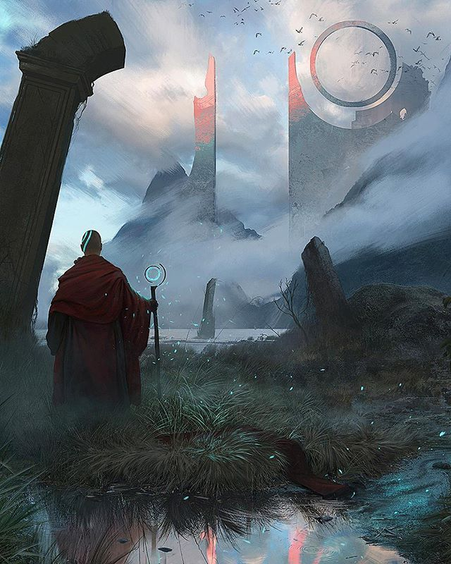 Pilgrimage concept artist David alverez