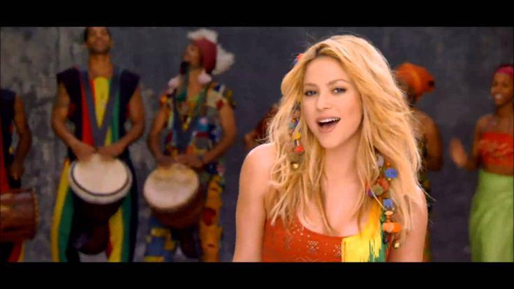 """Shakira - La La La """"Lyrics"""" com Carlinhos Brown(Musica da Copa 2014 FIFA..."""