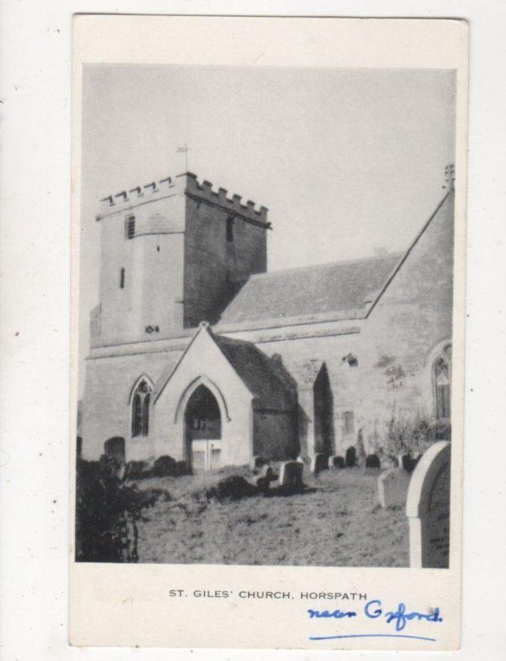 St Giles Church Horspath 1959 Postcard 923a   eBay
