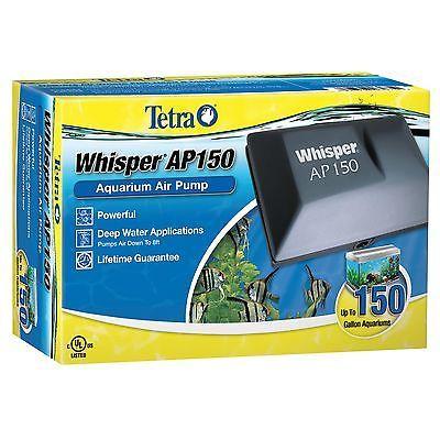 Pumps Water 77641: Tetra 26075 Whisper Aquarium Air Pump Ap150, Up To 150-Gallon BUY IT NOW ONLY: $36.03