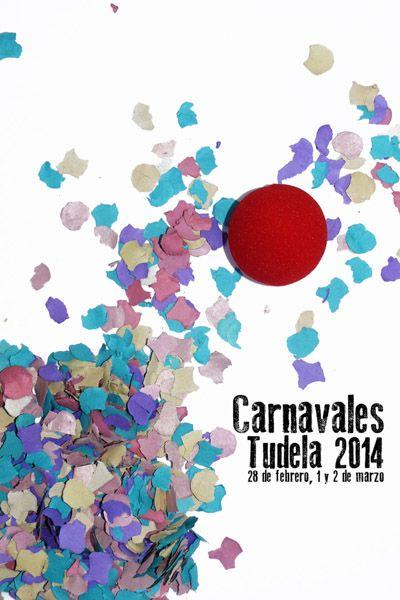 Tudela (Navarra). Cartel Carnaval 2014.