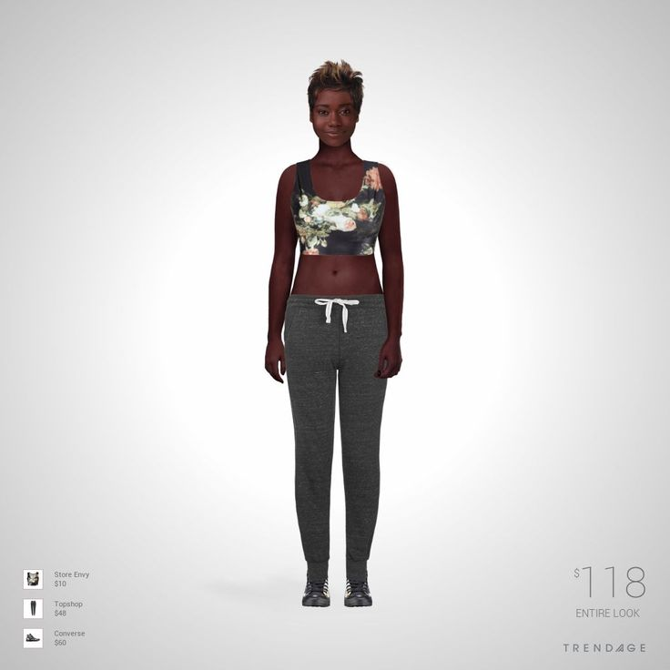 tenue de la mode faite par Sarah en utilisant les vêtements de Topshop, Store Envy, Converse
