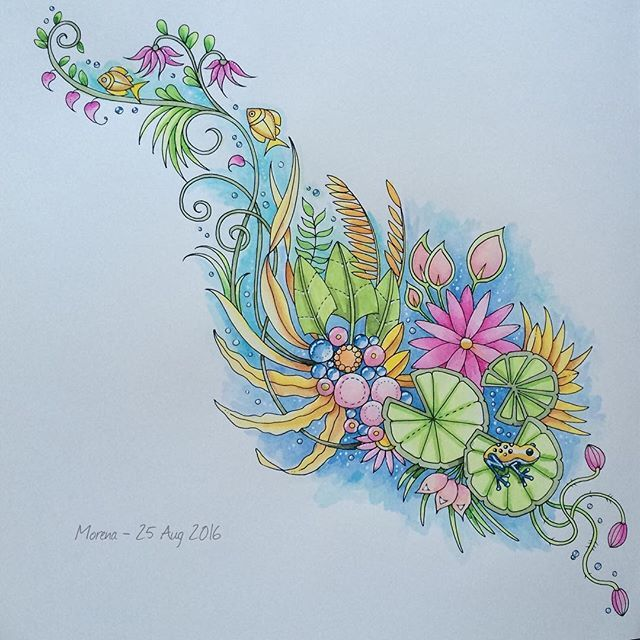 742 Best Images About Magical Jungle Coloring Book On Pinterest