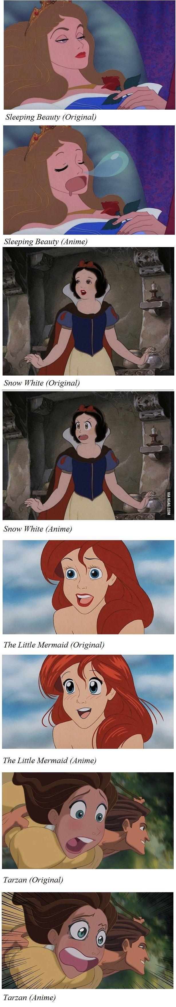 Disney gets an Anime Treatment
