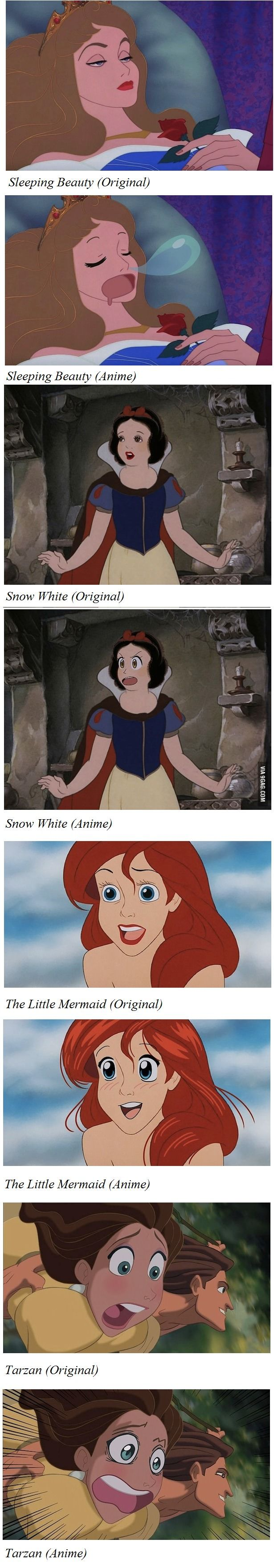 Disney gets an Anime Treatment