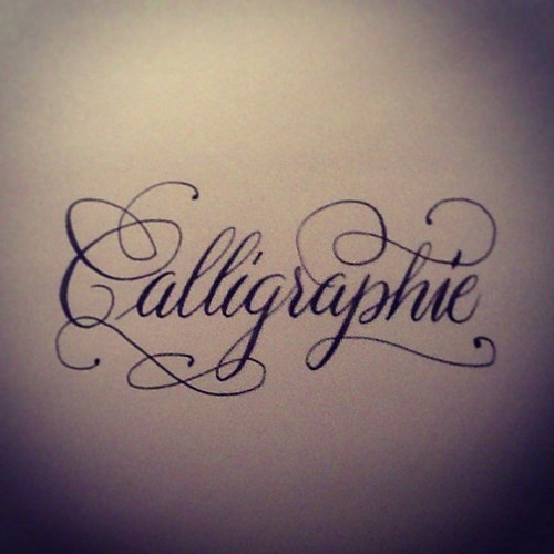 17 Best Images About Calligraphy Flourish On Pinterest