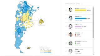 Elecciones 2015: resultados en vivo por provincia, municipio y comuna