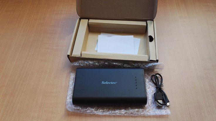 Amazon.fr:Commentaires en ligne: SELECTEC 18000mAh Batterie externe 5V 2.1 A avec 2 Ports USB - Power bank Ultra Slim Chargeur portable pour iPhone iPad Samsung Smartphone - Noir