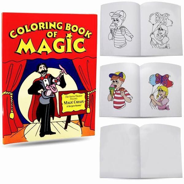 Coloring Book Magic Trick Lovely Magic Coloring Book Easy Magic Trick For Kids Extra Magic Tricks For Kids Coloring Books Card Tricks For Kids