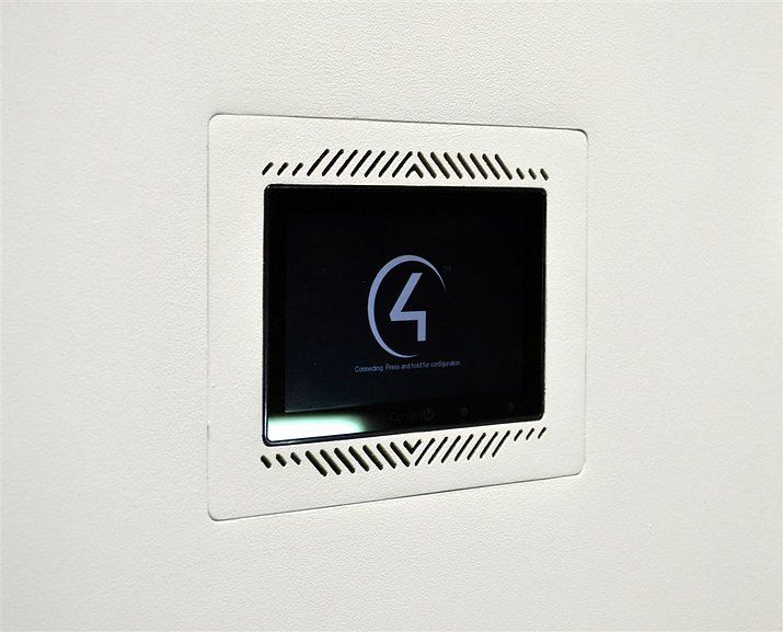 Do you use a home automation system? If so, this flush wall mount for #Control4 will make your home a smart one! https://www.facebook.com/WallDesignSystems