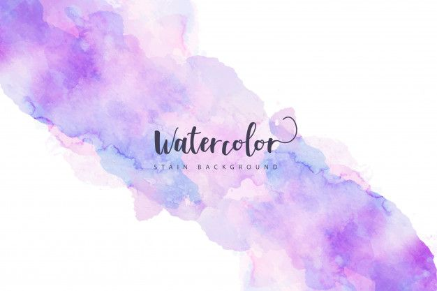 Download Purple Watercolor Stain Background For Free In 2020