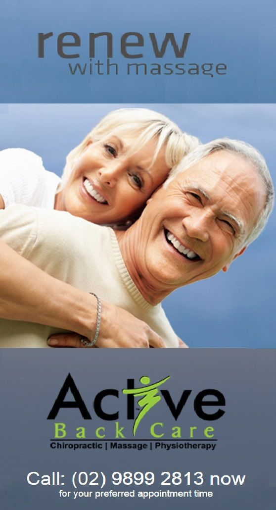 Active Back Care provides a variety of massage techniques which have been shown to alleviate pain, stress, and tension while preventing or improving chronic diseases and health conditions. http://activebackcare.com.au/