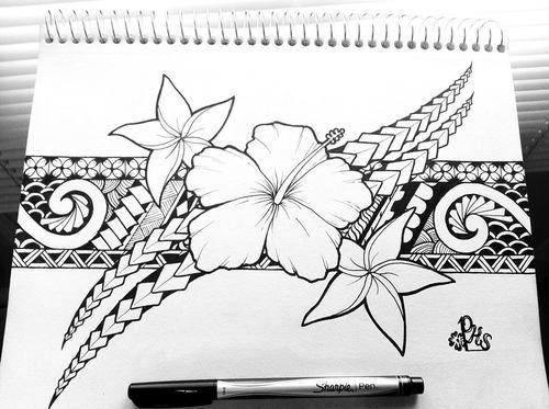 Hawaiian Tribal Art picture