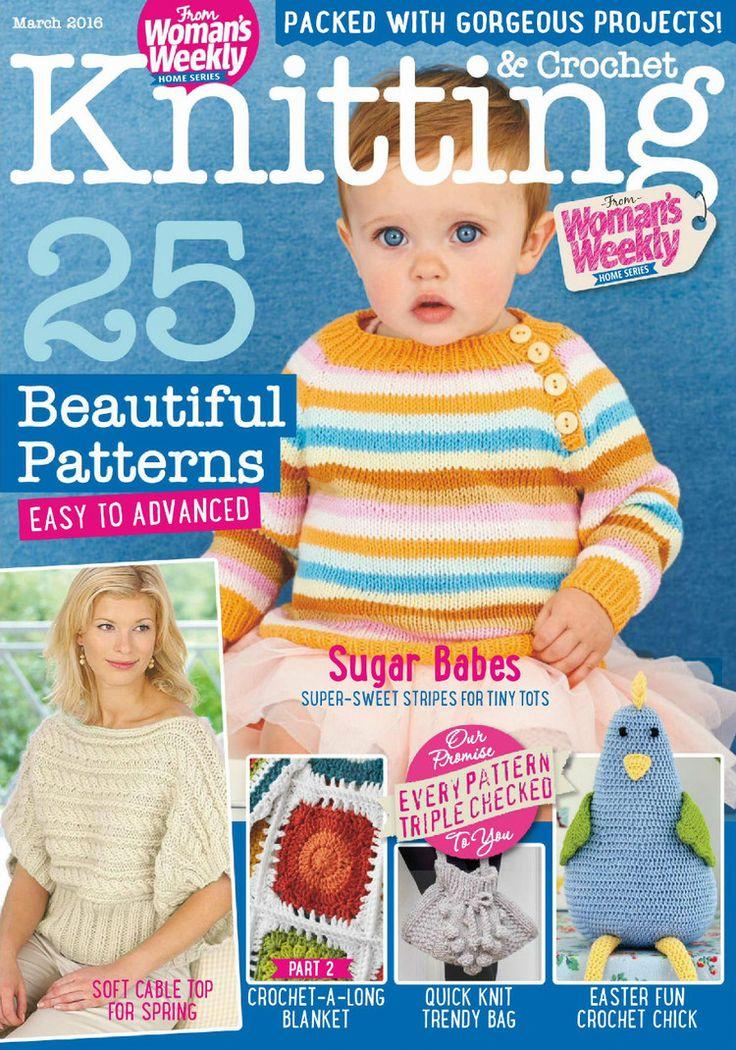Womans semanal de crochet de marzo de 2016 - eufemismo - eufemismo