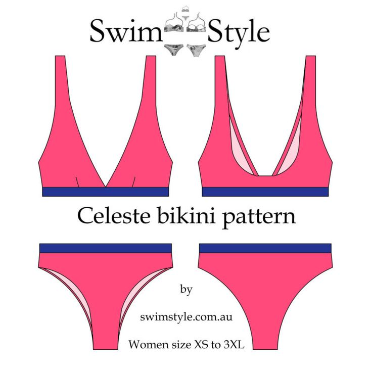 Sew a bikini top