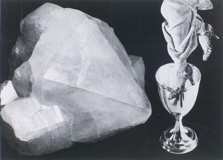 František Vobecký 1902-1991 THE MOMENT OF MIRACLES (OKAMžIK ZÁZRAKŮ), 1936  Silver print of photomontage Paper 27 by 38 cm., 10   5/8  by 15 in.